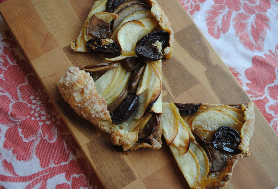Apple and Plum Galette